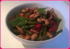 No gluten! Yes vegan!: Insalata di fagiolini e anacardi tostati al sapore...