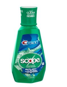 Crest Scope Outlast Mouthwash - 1 L :Just $3.39 At Target - http://supersavingsman.com/crest-scope-outlast-mouthwash-1-l-just-3-39-target/