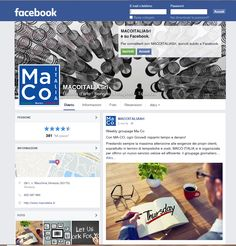 Let's visit our Facebook page to be Always updated! Find out more going to https://www.facebook.com/MacoItaliaSrl