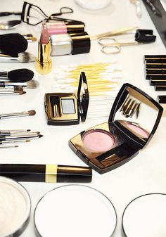 backstage at chanel by {this is glamorous}, via Flickr
