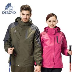56.99$  Know more  - DZRZVD sports Jackets waterproof mountain climbing outdoor hiking clothing men and women