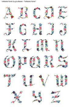 alfabeto fiorito