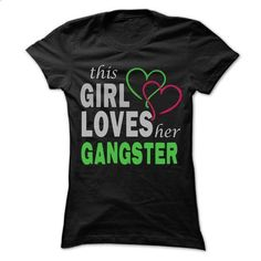This girl loves her Gangster - Awesome Name Shirt ! - #printed tee #hoodie drawing. ORDER HERE => https://www.sunfrog.com/LifeStyle/This-girl-loves-her-Gangster--Awesome-Name-Shirt-.html?68278