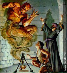 Genio - Seres Mitológicos y Fantásticos