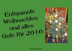 Wünsche allen frohe Festtage und einen guten Start ins Jahr 2016