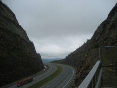 I- Ridgeley mountain pass  #infrastructure #ridgeley #mountain #pass