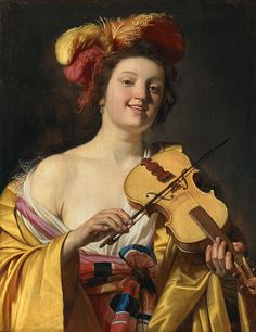 Gerrit van Honthorst, The Violin Player, 1626