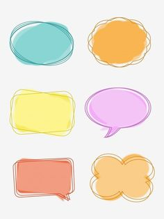 Simple Cartoon Cute Dialog Bubble Border Box Round Frame Conversation, Dialog, Bubble, Frame PNG Transparent Clipart Image and PSD File for Free Down Doodle Frames, Bullet Journal Ideas Pages, Bullet Journal Inspiration, Journal Stickers, Planner Stickers, Dialogue Bubble, Simple Cartoon, Frame Clipart, Good Notes