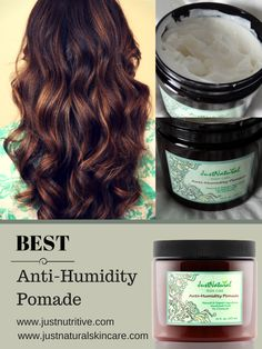 This anti-humidity pomade is really amazing. I have used many anti-frizz hair products over the years and nothing has worked. One day I was lucky enough to came across Just Nutritive products and decided to give one more anti-frizz product a try. Beyond happy I made this purchase. Worth every penny spent. This product not only prevents frizz but has all natural ingredients.