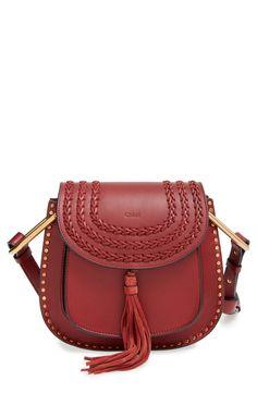 Chloé 'Small Hudson' Studded Crossbody Bag