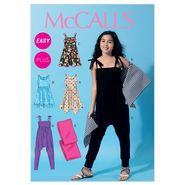 Girls'/Girls' Plus Dresses, Jumpsuit and Wrap-GIRL (7-8-10-12-14) Pattern