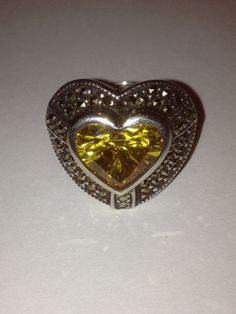 Your place to buy and sell all things handmade Heart Shaped Rings, Heart Ring, Black Friday Specials, Marcasite Ring, Southwestern Jewelry, Valentine Day Gifts, Heart Shapes, Celtic, Vintage Jewelry
