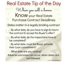 Selling Real Estate Tips Home Selling tips - /Coral Springs and South Florida Real Estate Real Estate Memes, Real Estate Career, Real Estate Business, Selling Real Estate, Real Estate Tips, Real Estate Investing, Real Estate Marketing, Boca Raton Real Estate, Getting Into Real Estate