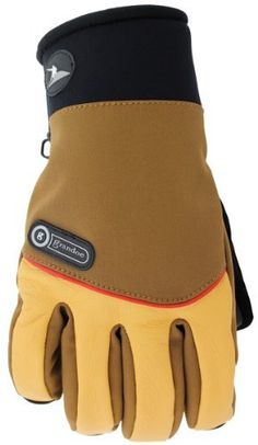 Grandoe Men's Cooper Glove, X-Large, Palomino/Tangelo/Chestnut by Grandoe. $74.95. The Cooper is a warm and lightweight performance guide glove with a casual appeal. The Primaloft insulation provides ultimate warmth while the Velocity Soft Shell, Adirondack Deerskin and a Neoprene wristlet create a soft yet durable feel.