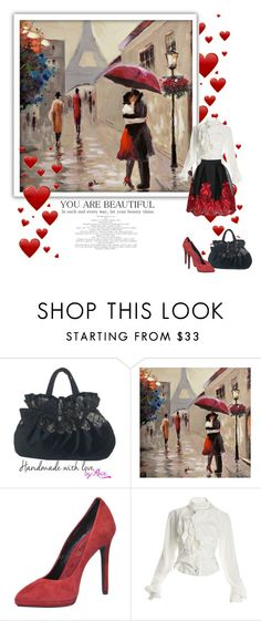 """Senza titolo #2258"" by alicelovehandmade ❤ liked on Polyvore featuring ISLO, Vivienne Westwood, WithChic, women's clothing, women, female, woman, misses and juniors"