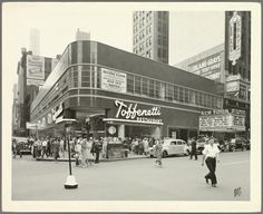 West 43rd Street - Broadway,Toffenetti Restaurant, Digital ID 1558231, New York Public Library. The Milstein Division of United States History, Local History & Genealogy is one of the largest genealogical collections freely open to the public. Unless noted otherwise, all sources cited are located in the Milstein Division (Room 121). Many of the microform titles are self-service in the Milstein Division Microform Room (Room 119).