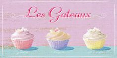 Les Gateaux Giclee Print by Malcolm Sanders at AllPosters.com