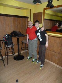 La escuela SPV patinaje en El Cuento Bar. Os esperamos más veces 05/04/2013 Salir por Madrid #SPVelcuentobar