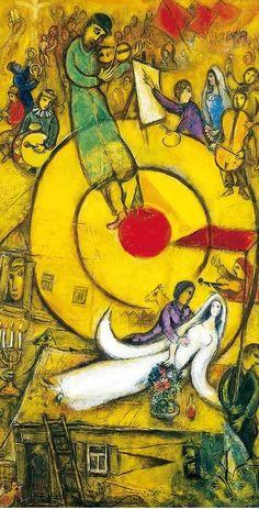 Chagall, entre guerre et paix                                                                                                                                                                                 More