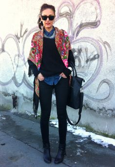 Russian scarves by Luxyra