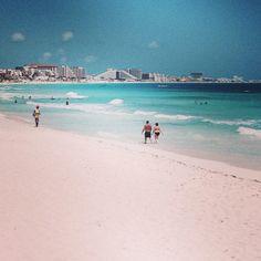 Mexico bästa stränderna Cancun