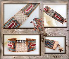 Schémas bracelet Loom