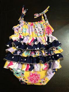 Girl Charlee Fabrics: Tutorial Tuesday: Summer Time Romp & Play by Julia Faye