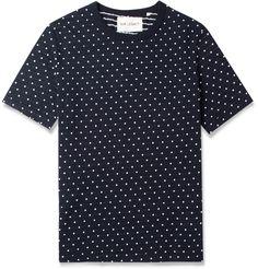 Our LegacyWoven-Dot Cotton-Jersey T-Shirt