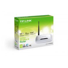 Router WiFi TP-Link TL-WR740n 150Mbps - Router Inalámbrico N a 150Mbps. Más Info: info@snshop.com.ar
