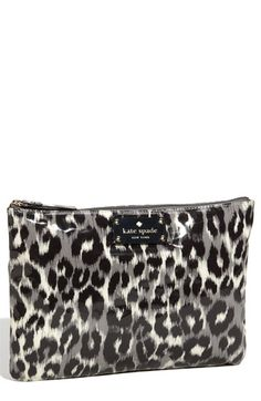 kate spade new york 'daycation - large' flat pouch