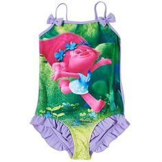 Girls Trolls Swimsuit