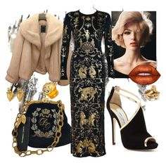 """""""VIVIENNE"""" by oksana-chmel on Polyvore featuring мода, Christian Dior, Dolce&Gabbana, Jimmy Choo, Tom Ford, StrangeFruit, Vivienne Westwood, House of Sillage и Lime Crime"""