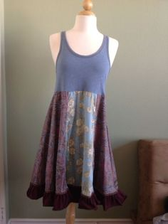 MATILDA JANE Women's Floral Tank Dress Size M Medium EUC