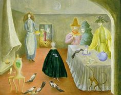 Leonora Carrington, The Old Maids, 1947, Sainsbury Centre for Visual Arts, University of East Anglia