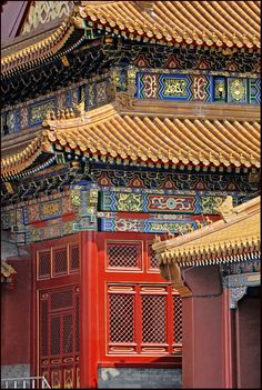 Forbidden City, Beijing, China - loved the amazing detail and sheer size! The gardens are amazing, as well. Vietnam, Shanghai, Beijing China, Great Places, Beautiful Places, Places To Travel, Places To Visit, Macao, Peking