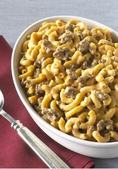 VELVEETA® Cheeseburger Mac — Our cheesy, meaty one-pot meal is done in a flash—just 5 minutes of prep—and will be a hit with your kids this back-to-school season. Isn't it nice to be a dinnertime superhero?