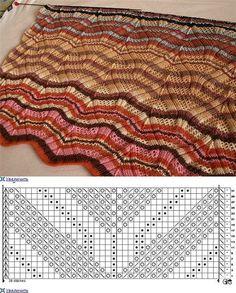 Miss knitted pattern Knitting Paterns, Knitting Charts, Lace Knitting, Knitting Designs, Knitting Stitches, Lace Patterns, Stitch Patterns, Crochet Patterns, Crochet Home