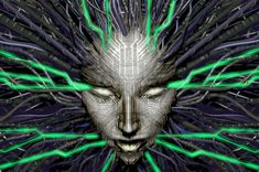 I AM SHODAN. All the emails of SHODAN from the gamzzbzbzz-game System Shock 2 by amazing Looking Glass. Ps4, Playstation, Xbox, Cyberpunk, System Shock 2, All Hd Wallpaper, Wallpapers, Studios, Image Font