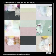 Oscraps :: Shop by Designer :: Anna Aspnes Designs :: ArtPlay Palette Go Retro