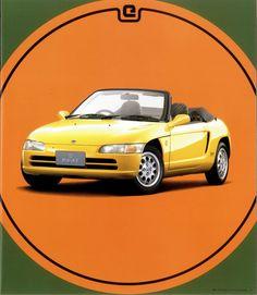 Honda Beat - brochure (1991)