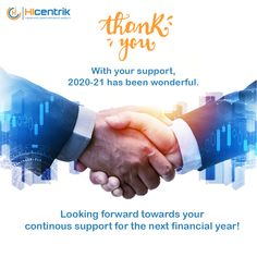 **Thank You** With your support, 2020-21 has been wonderful. Looking forward towards your continuous support for the next financial year. #thankyou #financialmonth #incometax #taxes #tax #taxseason #gst #business #taxplanning #incometaxeffect #incometaxmoney #incometaxtime #1stapril #april2021 #financial #HIcentrik Social Advertising, Advertising Services, Digital Marketing Services, Seo Agency, Web Design, Business, House, Ideas, Design Web