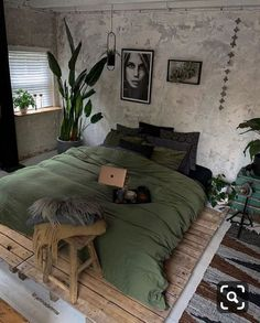hippie home decor via my_homely_decor Loving this styling by jellinad. - hippie home decor via my_homely_decor Loving this styling by jellinadetmar What do you t - Dream Rooms, Dream Bedroom, Home Bedroom, Bedroom Modern, Bohemian Bedroom Decor, Hippie Home Decor, Hippie Bedrooms, Bohemian Style Bedrooms, Boho Decor
