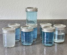 How to Make Bubbles - the Best Homemade Bubble Solution: 5 Steps (with Pictures) Bubble Solution Recipe, Homemade Bubble Solution, Homemade Bubbles, Glass Jars, Mason Jars, Bubble Mixture, How To Make Bubbles, Bubble Wands, Blowing Bubbles