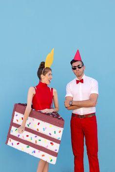 DIY Birthday Cake (+ Birthday Boy!) Costume