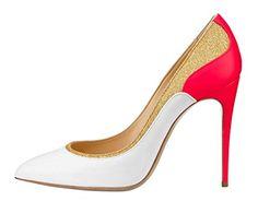 MONICOCO Übergröße Süßigkeit Farben Damenschuhe Spitze Zehen Geschlossene Toe Patchwork Pumps mit Stiletto Absatz - http://on-line-kaufen.de/monicoco/monicoco-bergroesse-suessigkeit-farben-spitze