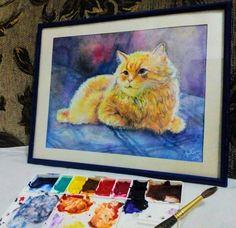 Fluffy Kitteh by LadyHazy.deviantart.com on @DeviantArt