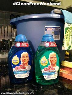 Mr Clean Liquid Muscle #CleanFreeWeekend