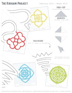 Kraft Monster : Kirigami Paper Projects