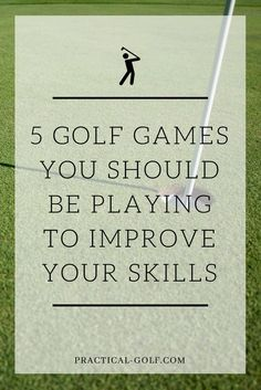 5 golf games you should be playing to improve your skills | golf tee | golf swing | golf putting | golf driving | golf game | golf training | golf course | #golftips #golfingtips #awesomegolftip