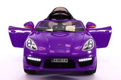Porsche Style Ride On Toy with a 12 Volt Powerful Battery and Powerful Motor…